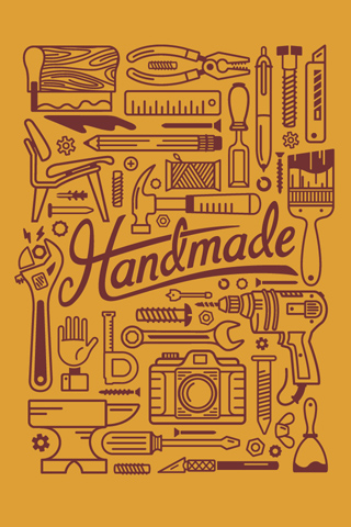 Handmade - Gold by Justin Schafer
