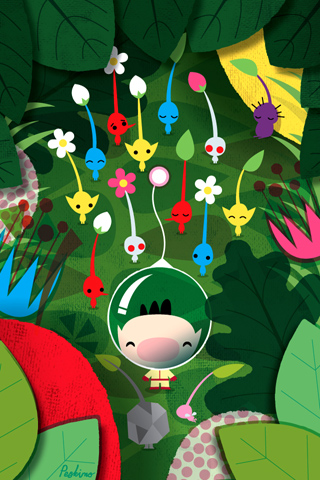 Pikmin A by Peskimo - Synergy Art