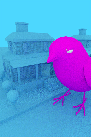 Bird Burbs by Julian Glander