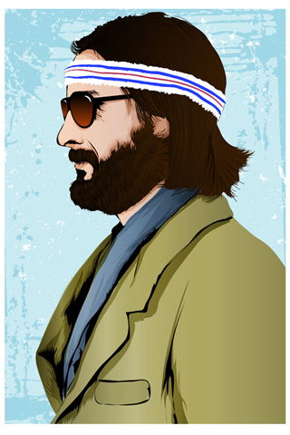 Richie Tenenbaum by The Art Warriors (Antonio Gamboa)