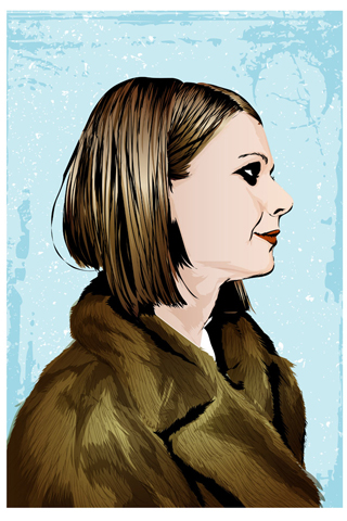 Margot Tenenbaum by The Art Warriors (Antonio Gamboa)