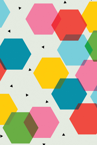 Tinybop Hexagons by Tuesday Bassen