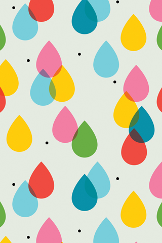 Tinybop Raindrops by Tuesday Bassen