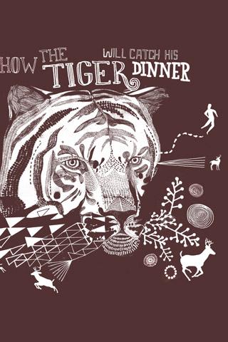 Tiger by James Gulliver Hancock