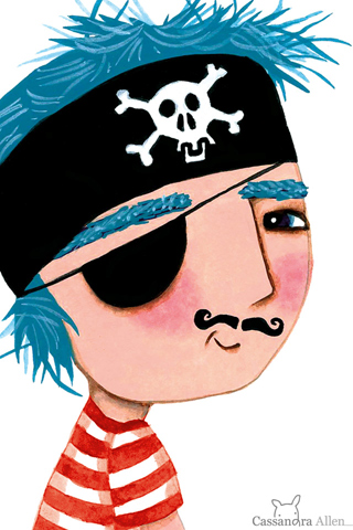 Pirate Boy by Cassandra Allen