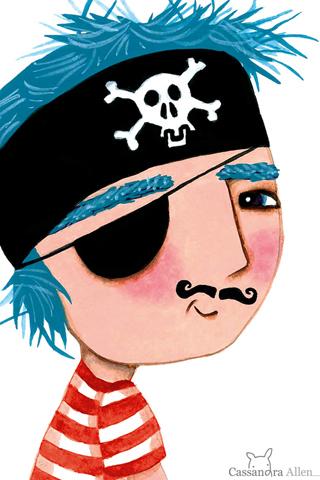 Pirate Boy by Cassandra Allen