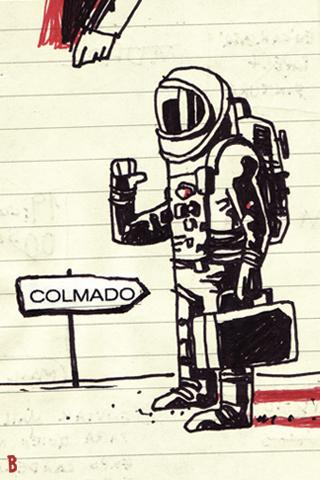 Astronauta colmado by Ivan Bravo