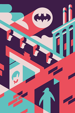 Batman by Timo Meyer for Silver Screen Society