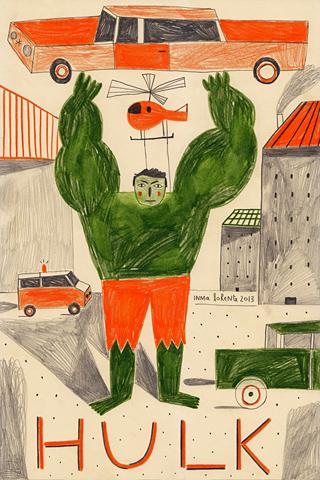 Poolga - Hulk - Inma Lorente