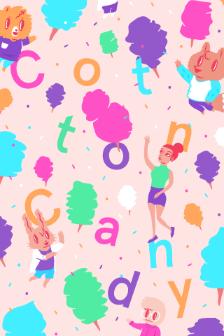 Poolga - Cotton Candy - Edau