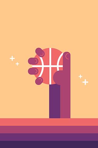 NBA Holding Hand by Loris F. Alessandria