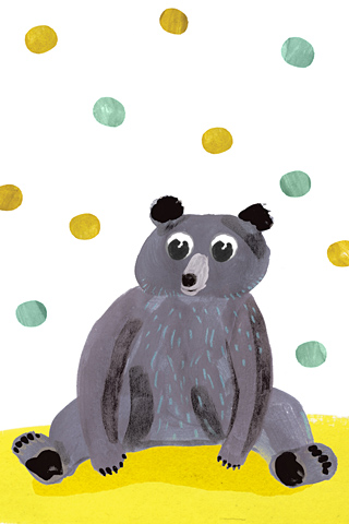 Dots Bear by Charline Picard