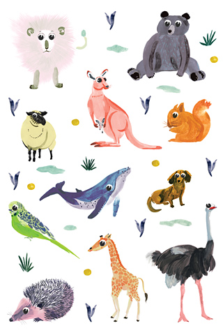 Animals by Charline Picard