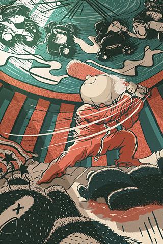 Evil Ninjas by Victor Beuren