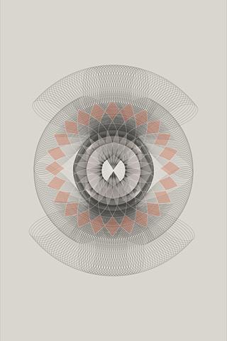 Spirograph 2 by Daphna Sebbane