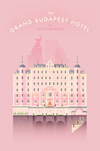 Grand Budapest Hotel by Lorena G
