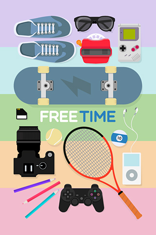 Poolga - Free Time - Vivar