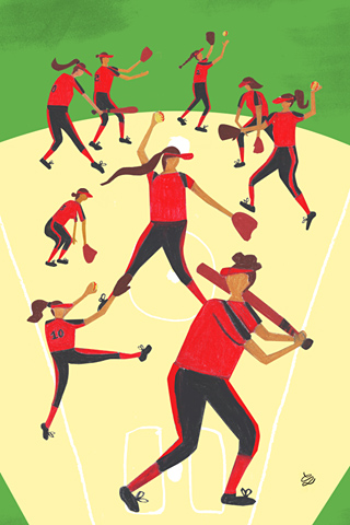 Softball by Chiara Lanzieri