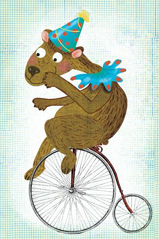 Circus Bear by Manja Radic