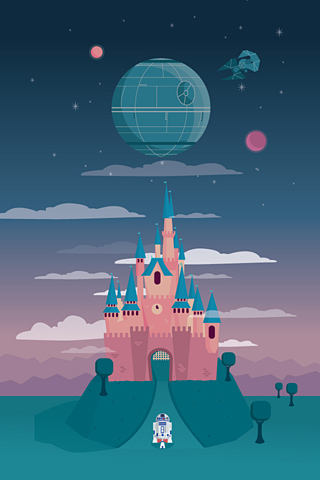 Disney and the Death Star by Milli-Jane