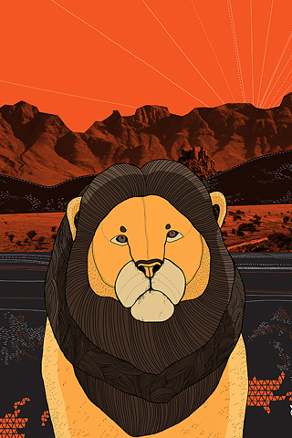 Lion by Diana Hope