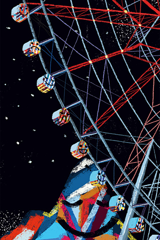 Poolga - Ferris Wheel Night - Teddy Kang