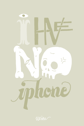 I have no iPhone by Jack Usine
