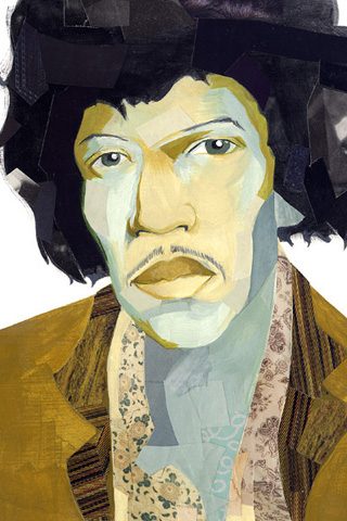 Jimi Hendrix by Darren Booth