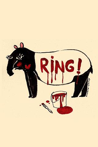 Ringing Tapir by Ricardo Cavolo