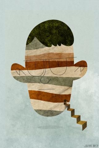 Cabeza by Javier Arce