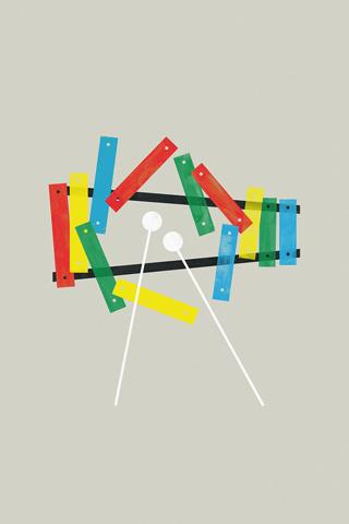 Xylophone by Brock Davis