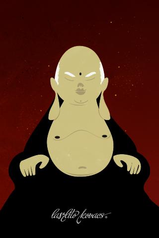 Budha by Laszlito Kovacs
