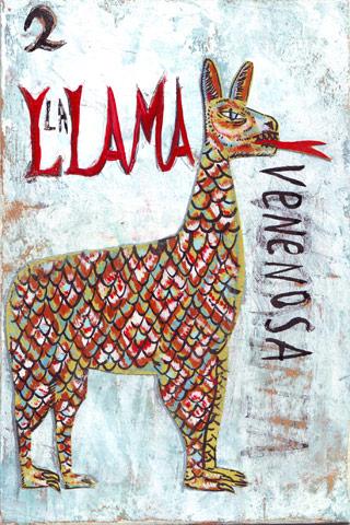 Llama by Santiago Uceda