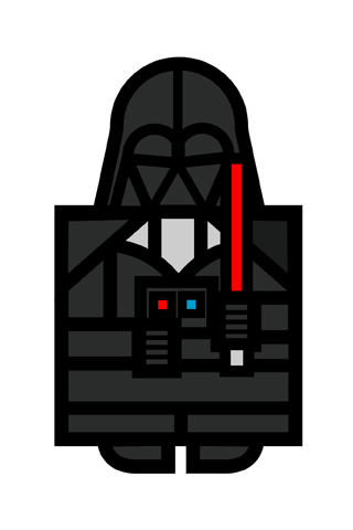 Darth Vader by Hey