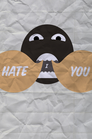 Hate me by Justina Bailey