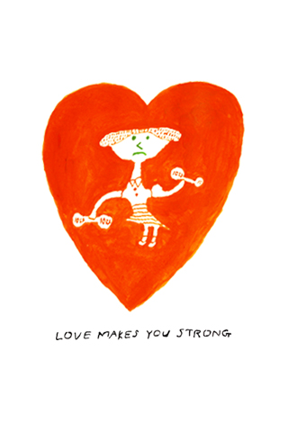 Love Makes You Strong by Mogu Takahashi
