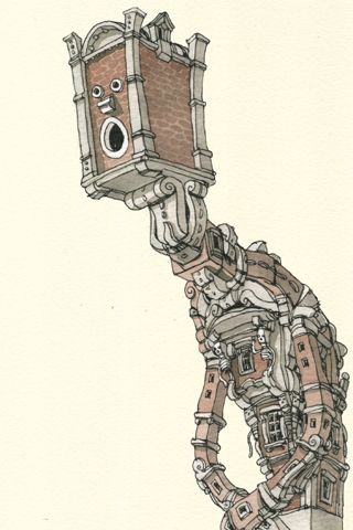 House Builder by Mattias Adolfsson