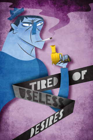 Tired of Useless Desires by green glasses