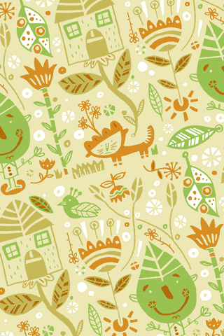 Nature Pattern by Bnito