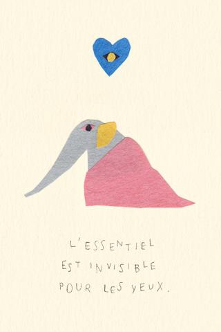 Petit éléphant by Hiyoko Imai