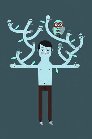 Big Hug by Luciano Lozano, ilustrista