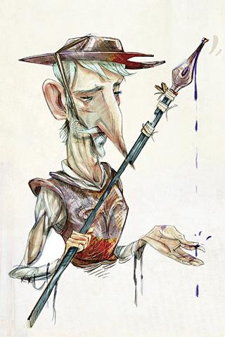 Don Quijote by El Rubencio