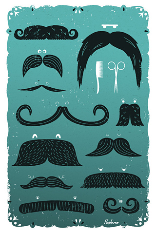 Poolga - Moustaches - Peskimo - Synergy Art