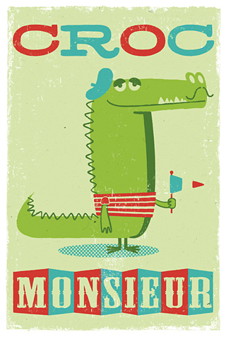 Croc Monsieur by Peskimo - Synergy Art