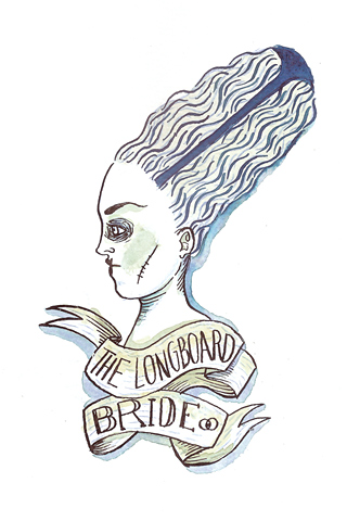 The Longboard Bride by Carlos Braña de la Hoz
