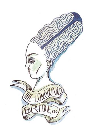 Poolga - The Longboard Bride - Carlos Braña de la Hoz