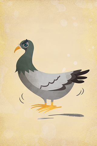 The Pigeon by Rina Miele - Honey Design