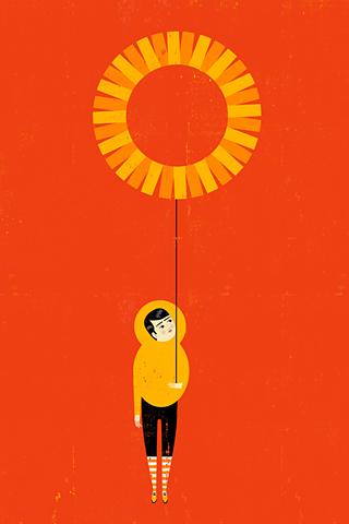 Poolga - A Perfect Day - Luciano Lozano, ilustrista
