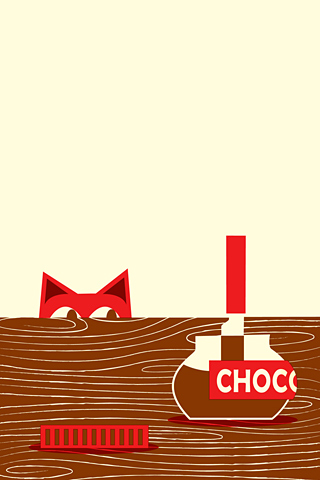 Chocolate Cat by Peskimo - Synergy Art