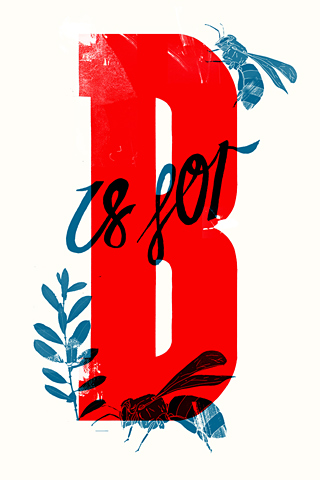 B is for by Matt Glasby